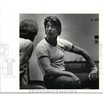 1979 Press Photo Joe Namathof New York Jets With Eyes Raised - cvs04405