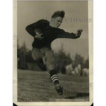 1924 Press Photo Cleaveland, Halfback for Stanford in Tournament Roses Gamwe
