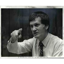 1982 Press Photo Harry Weltman- general manager of the Cleveland Cavaliers