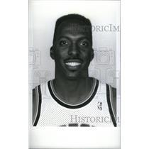1990 Press Photo John Salley Chicago Bulls Player - RRX38561