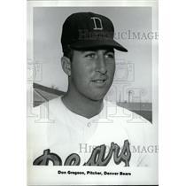 1969 Press Photo Don Gregson Denver Bears Pitcher - RRW74401