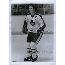 1980 Press Photo Darryl Glen Sittler Toronto Maple Leaf - RRW82493