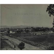 1937 Press Photo Gettysburg, Pennsylvania Taken in 1863 Shortly After the Battle