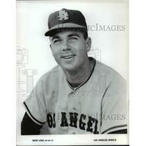 1965 Press Photo Gene Lee, INF BR TR, Los Angeles Angels - cvb45028