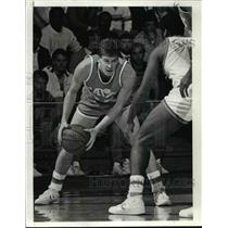 1986 Press Photo Mark Price of Cleveland Cavaliers in Action - cvb52064