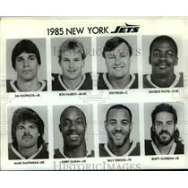 1985 Press Photo New York Jets - cvb53001