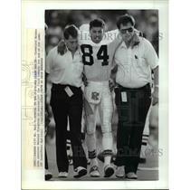 1988 Press Photo Kansas City Mo Cleveland Browns wide receiver Webster Slaughter