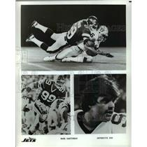 Press Photo Shots of Mark Gastineau New York Jets Defensive End - cvb55799