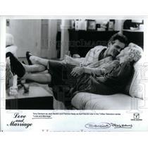 1900 Press Photo Tony Denison Healy Love and Marriage - RRX19825