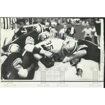 1973 Press Photo Dallas running back Calvin Hill in football action - nox14099