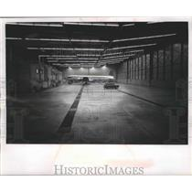 1963 Press Photo Northwest Airline hanger Minneapolis-St.Paul Airport