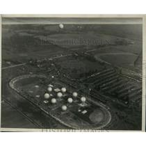 1927 Press Photo National Balloon Race Akron Ohio May 31st - ney30535