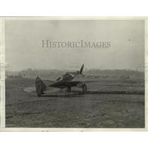 1928 Press Photo Midget Plane of V.C. Babrock in Acron Ohio - ney30778