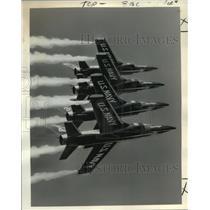 1965 Press Photo The Navy's Blue Angel supersonic flight demonstration team