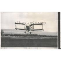 1953 Press Photo The new Air Tractor plane during test flight at Yakima