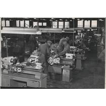 1951 Press Photo US Air Force Base - spb10192