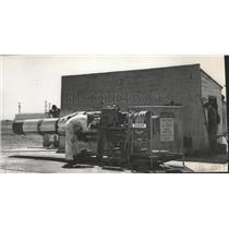 1951 Press Photo US Air Force Base - spb10193