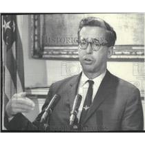 1969 Press Photo Secor D Browne of Lincoln, Nebraska, Civil Aeronautics Board