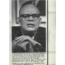 1967 Press Photo Charles S. Murphy, chairman of the Civil Aeronautics Board