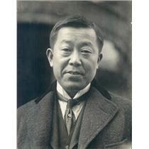 1921 Press Photo Japanese Diplomat Ambassador Masanao Hanihara - ner15163