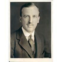 1923 Press Photo Chicago IL Shipping Board Chairman Edward Farley - ner18699