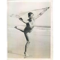 1927 Press Photo Ormond-Daytona Beach FL Society Rita Douglas - ner21561