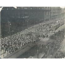 1925 Press Photo Chicago IL Armistice Day Celebration State & Madison