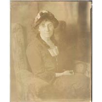 1920 Press Photo Chicago IL Suffragette Mrs Charles E Wilder Evanston