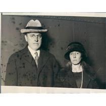 1923 Press Photo Chicago IL Dr Henry Nobel MacCracken Vassar College - ner44135