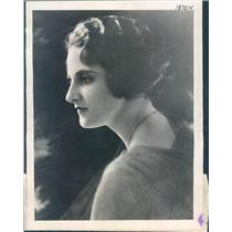 1922 Press Photo Chicago IL Gladys Underhill Wife of Lee Underhill - ner46937
