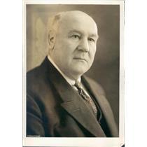 1923 Press Photo German Ambassador to Japan WH Solf - ner51023