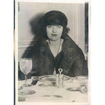 1921 Press Photo Chicago IL Virginia M Thorne Wife of Gordon Thorne - ner53597