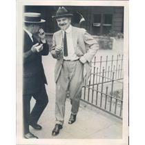 1922 Press Photo Chicago IL Dr Victor Lespinasse - ner62215