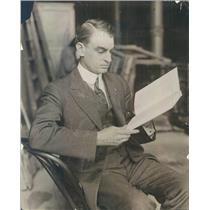 1916 Press Photo Chicago IL Woodland Bards President Joe Farrell - ner663