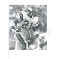 Press Photo NFL Minnesota Vikings Running Back Terry Allen - snb8745