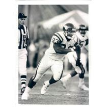 Press Photo NFL Minnesota Vikings Defensive Tackle Henry Thomas - snb9329