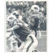 Undated Press Photo Photo NFL Buffalo Bills Quarterback Dennis Shaw - snb9485