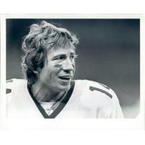 1981 Press Photo NFL New York Jets Quarterback Richard Todd - snb9495