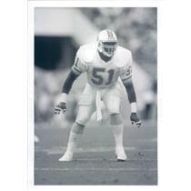 Press Photo NFL Tampa Bay Buccaneers Linebacker Broderick Thomas - snb9583