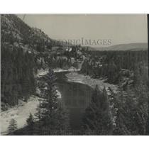 1947 Press Photo Missoula River east of Superior Montana - spa92420