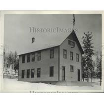 1893 Press Photo Marshall school building prior to 1894, replaced 10 yrs ago