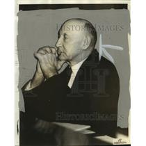1936 Press Photo Representative Robert Doughton at committee hearing - mja96391