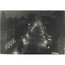 1913 Press Photo Night scene on Riverside Avenue - spb03671