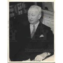 1934 Press Photo WC McGonagle appointed Treasurer Territory of Hawaii