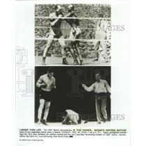 1910 Press Photo Boxing-Jack Johnson vs Jim Jeffries-Joe Louis vs Max Schmeling