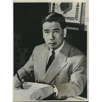 1961 Press Photo Anti-Communist South Vietnamese leader Ngo Dien Diem