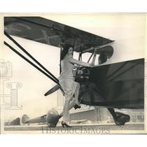 1946 Press Photo New Stinson Plane Voyager 125 Holds Up To Three Passengers