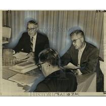 1961 Press Photo Civil Aeronautics Board Hearing in New Orleans - noo08136