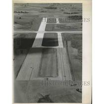 1968 Press Photo Outagamie County airport, runway extension - mjb72163