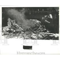 1978 Press Photo Airplane Crash Wreckage in Alabama - abna10219
